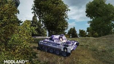[BCSF] PzKpfw V Panther [LOVELY×CATION 2] - [Izumi Wakoto] 스킨 0.0 [1.5.0.4], 2 photo